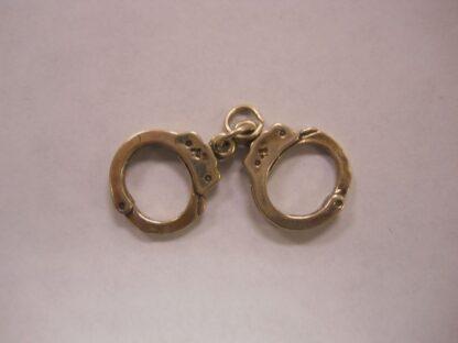 Charm #26  Hand Cuffs