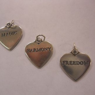 Charm #20  Heart w/Magic, Freedom