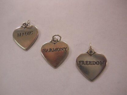 Charm #20  Heart w/Magic, Freedom