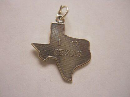 """Charm #13  I """"Heart"""" Texas"""