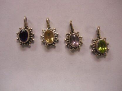 Charms #7 Gem Stones: Pale Amethyst