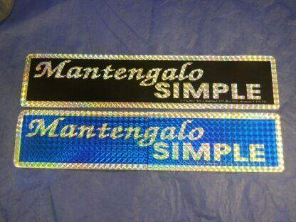Mantengalo Simple – Bumper Sticker