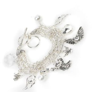 Toggle Bracelet – Angel Silver