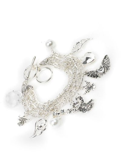 Toggle Bracelet – Angel Silver