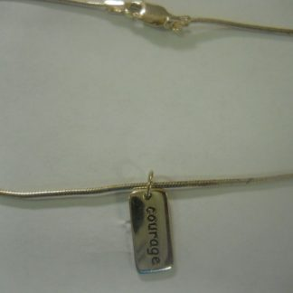 Anklet w/Courage Charm
