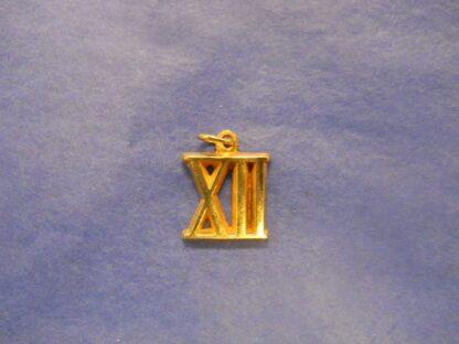 Gold Roman Numeral