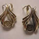 NA Sterling Silver Pendants Sterling Silver Wishbone Na Pendant with Symbol or Logo