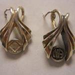 NA Sterling Silver Pendants Sterling Silver Wishbone Pendant w/NA Symbol or Logo