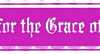 But for the Grace – Bumper Sticker