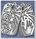 "NA Sterling Silver Pendants Sterling Silver Dog Tagz – Large  1 3/8"" X 3/4"""