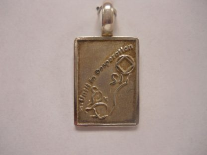 Sterling Silver Until in Desperation NA Pendant