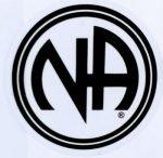 NA Stickers Medium Round NA Logo Sticker 3″
