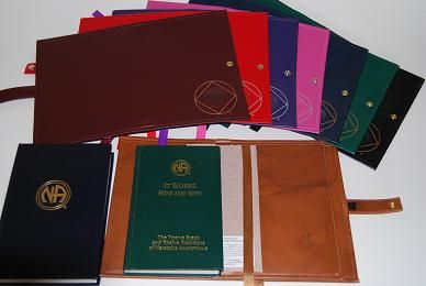 NA Double Deluxe Book Cover with Symbol