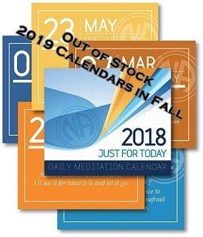JFT Meditation Calendar 2018
