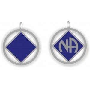 Blue NA Logo Pendant w24'Chain