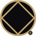NA Lapel Pins NA Symbol Lapel Pin Black and Gold