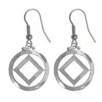 Earrings, NA Symbol