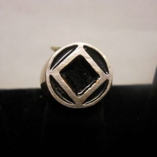 Black Enamel Sym Ring
