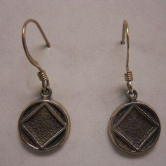 """Solid 1/2"""" Symbol Hook Earrings"""