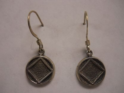 "Solid 1/2"" Symbol Hook Earrings"