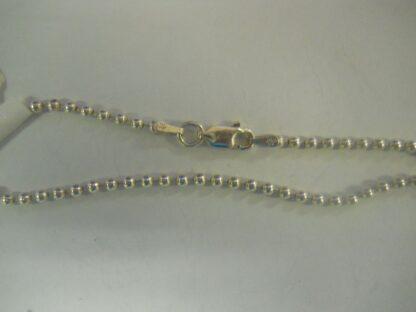 Anklet/Bracelet-Ball, Silver