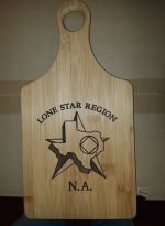 NA Miscellaneous Gifts Pine Cutting Board